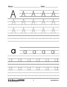 Pre-K Writing Practice Letter