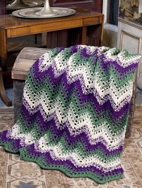 Free Crochet Wave Afghan Pattern