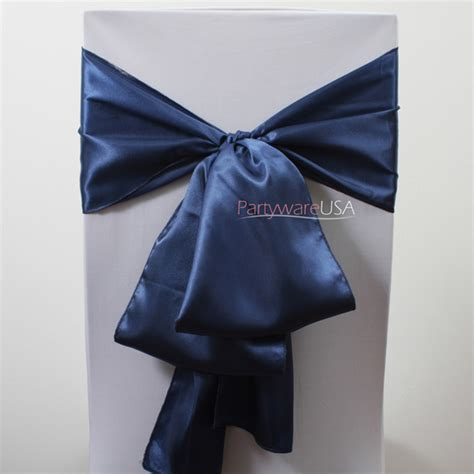 royal blue satin chair sashes 7 day delivery