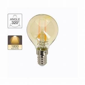 Ampoule Vintage Led : ampoule globe r tro led e14 3 8 w 350 lm xanlite ~ Edinachiropracticcenter.com Idées de Décoration
