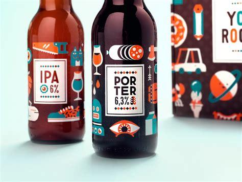 Cartoony Booze Branding