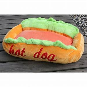 a hot dog pet bed large shoppaws dog beds and costumes With hot dog sofa bed