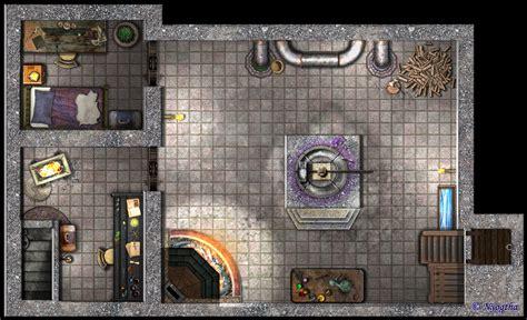 jeu de travail au bureau un laboratoire souterrain le parchemin de nyogtha