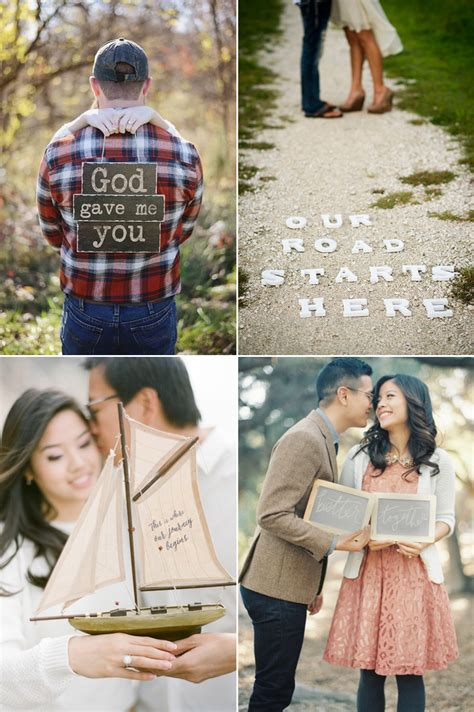 She Said Yes 27 Super Cute Engagement Announcement Photo