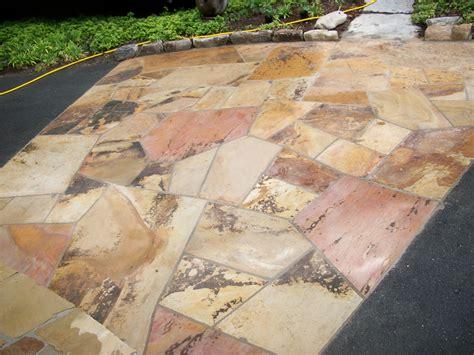 flagstone slabs brown flagstone super slabs palillos stone masonry
