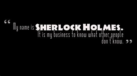 sherlock holmes quotes motivation quotes success love