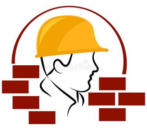 clipart muratore logo muratore illustrazione vettoriale immagine
