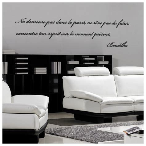 stickers muraux citations chambre sticker citation de bouddha 3 stickers citation texte
