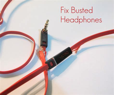 How Repair Busted Headphones Steps With Pictures