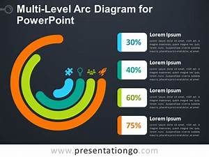 Multi-level Arc Diagram For Powerpoint