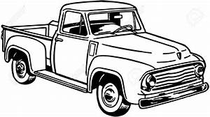 chevrolet clipart classic truck pencil and in color With 1941 ford coupe red