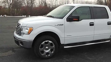 2011 Ford F 150 Truck Crew Cab White for sale used dealer