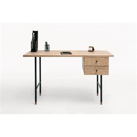 bureau metal et bois bureau design bois et métal jugend by drawer