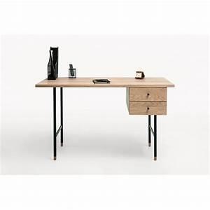 Bureau Bois Et Metal : bureau design bois et m tal jugend by drawer ~ Teatrodelosmanantiales.com Idées de Décoration
