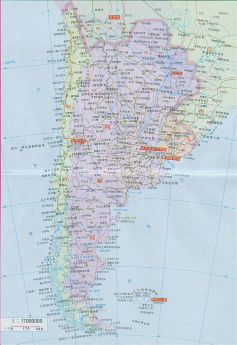 map  argentina  chinese argentina map  chinese