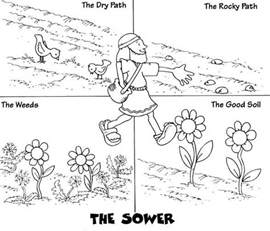 17 best images about sower parable crafts on