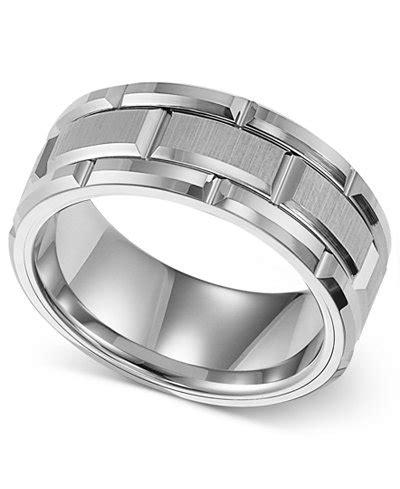 triton s ring 8mm white tungsten wedding band rings