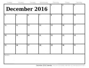 free december 2016 calendar with us holidays printable calendar