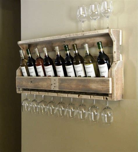 how to make a wine rack in a cabinet simple but cool wall mounted homemade wine rack made from