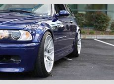 Track prepped Interlagos blue E46 M3 Competition Rare