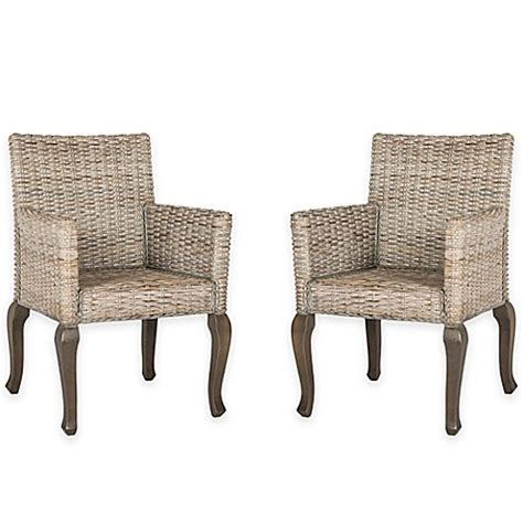 Safavieh Wicker Chairs by Safavieh Armando Wicker Dining Chair Bed Bath Beyond