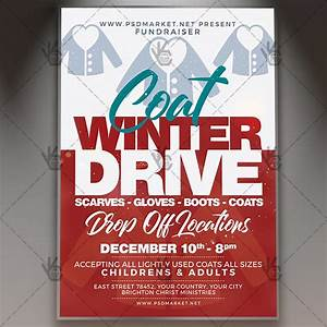Holiday Toy Drive Flyer Template Download Coat Drive Flyer Psd Template Psdmarket