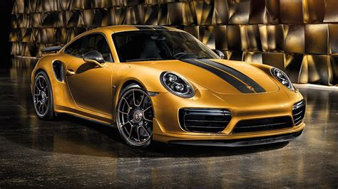 Stare At The Porsche 911 Turbo S Exclusive Series In New