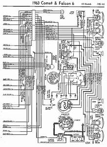 Wiring Diagrams Of 1963 Ford Comet And Falcon 6 All Models