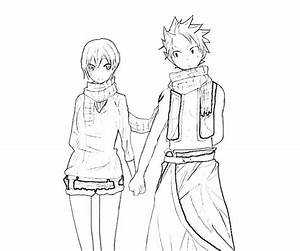 Cute Anime Couples Coloring Pages Chibi Couple Grig3org