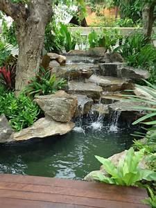 cascade et fontaine de jardin 69 deco pour les moments With plan de petite maison 10 installer une fontaine en pierre dans son jardin