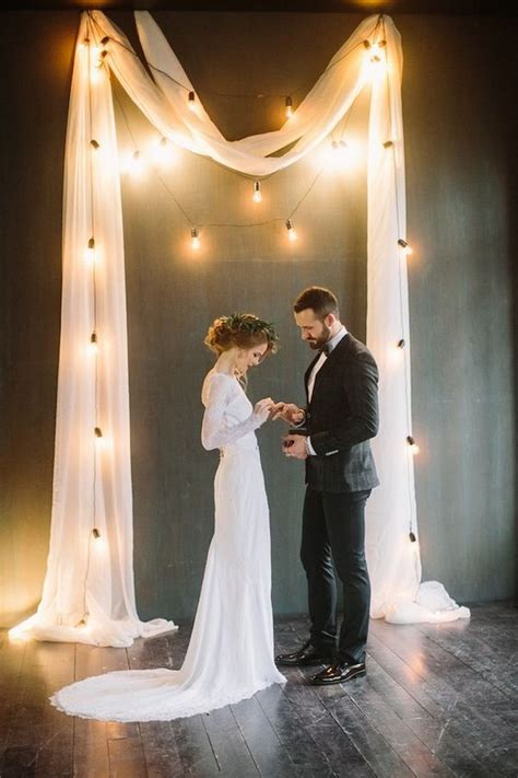 trending wedding lighting ideas  edison bulbs