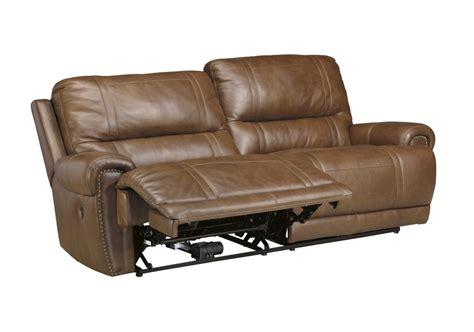 ashley furniture reclining sofa ashley furnitureparon vintage 2 seat reclining power sofa
