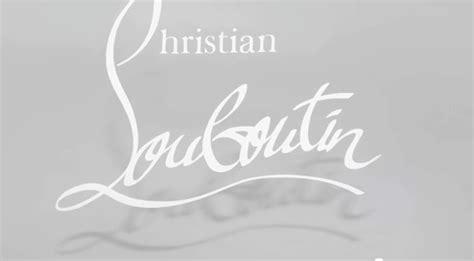 christian louboutin logo stencil louboutin logo png