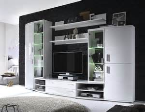 wohnzimmer modern grau grn wohnwand weiss hochglanz neu woody 35 00021 ebay
