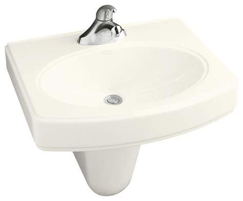 Kohler Bathroom Pinoir Wall-mount Bathroom Sink With