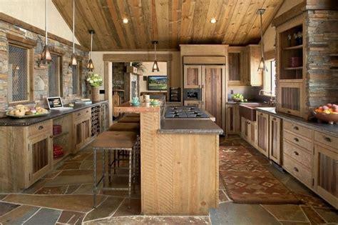 cuisine rustique et moderne la cuisine rustique ou l 39 harmonie de la déco et bois