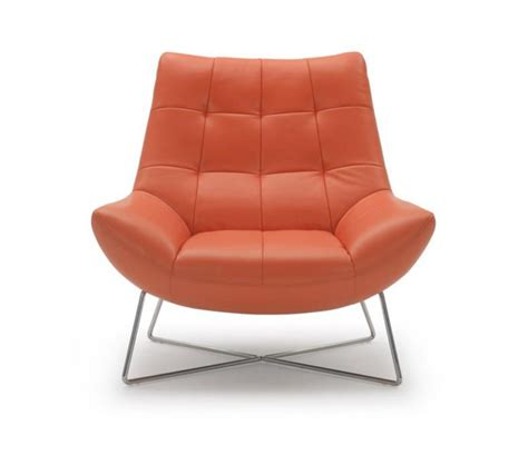 modern leather lounge chair dreamfurniture divani casa a728 modern orange leather lounge chair