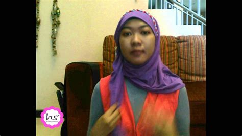 hijab tutorial simple  hijabers surabaya youtube