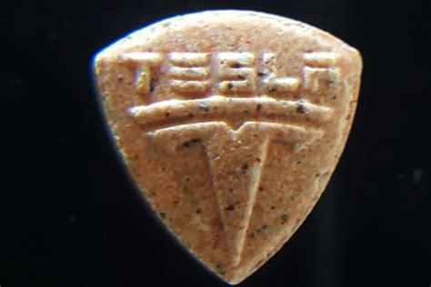 Warning Orange 'tesla' Pills Contain Very High Mdma
