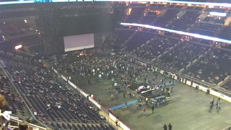 capital  arena section  concert seating