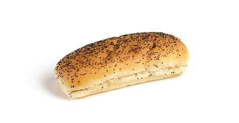 poppy seed jumbo hot dog bun  ct alpha baking
