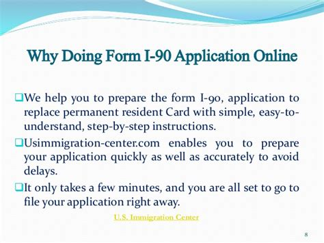 guidelines for green card renewal or replacement form i 90