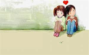 cartoon love images and wallpaper