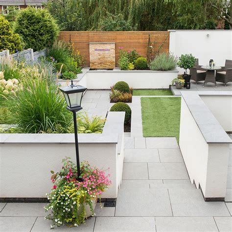 hilly garden    super easy  manage