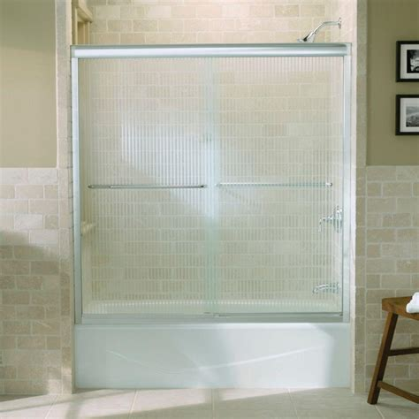 kohler fluence shower door kohler fluence 59 5 8 in x 58 5 16 in frameless sliding 6685