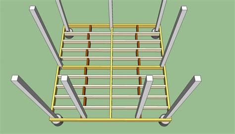 how to frame a floor how to build a gazebo howtospecialist how to build