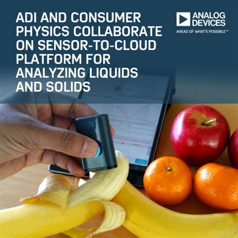 adi cuisine adi and consumer physics iot platform enables material