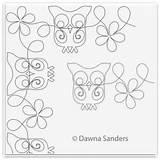 Larkspur Coloring Carmin Designlooter Hedwig Owl Border Corner sketch template
