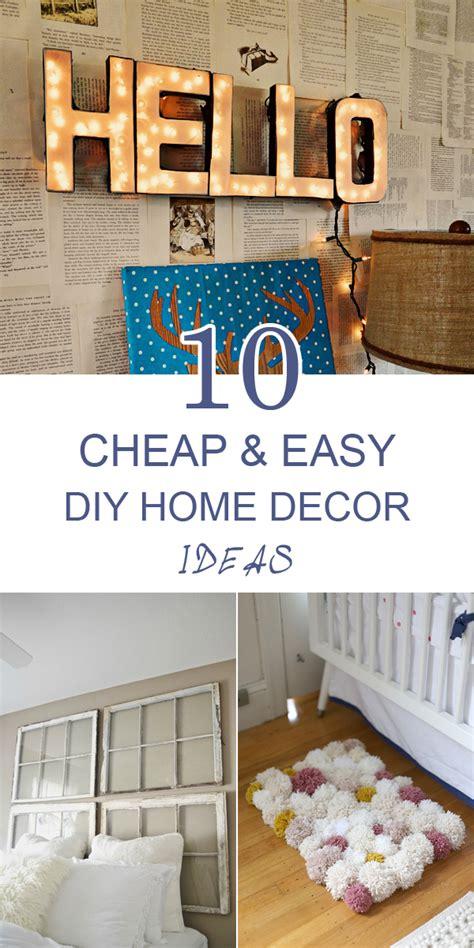 Cheap Decor Idea by 10 Cheap And Easy Diy Home Decor Ideas Frugal Homemaking