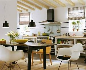 Modern, Kitchen, Design, With, Dining, Area, 15, Design, And, Decorating, Ideas